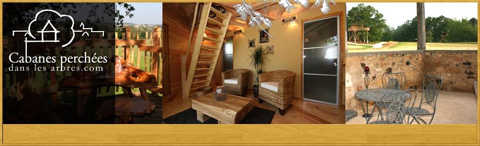 Hotel avec jacuzzi privatif aquitaine with hotel avec for Acheter cabane dans les arbres